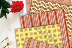 Orange Marmalade Digital Paper Pack Product Image 2