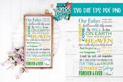Farmhouse Religion Prayer SVG EPS DXF Commercial Cut file Product Image 1