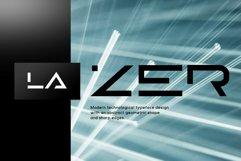 Lazer - Modern futuristic scifi font Product Image 4