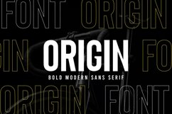 Origin - Bold Retro Sans Serif Product Image 1
