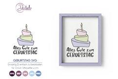 Alles Gute zum Geburtstag SVG Product Image 1