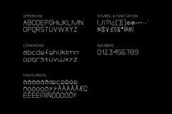 DREXS - Futuristic Typeface Product Image 2