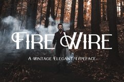 Web Font Fire Wire Product Image 1