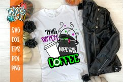 This Witch Brews Coffee Halloween SVG Cut File Product Image 1
