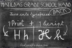 Matildas Grade School Hand_Script Product Image 5