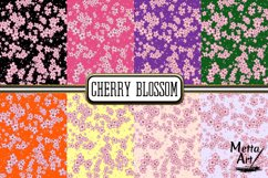 Cherry Blossom - 16 Digital Papers/Backgrounds Product Image 2