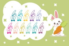 bunny sweaty dingbats font Product Image 2