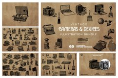 2200 Vintage Graphics Bundle Product Image 3