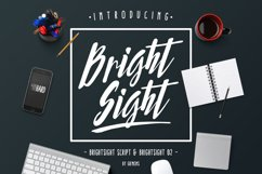 Bright Sight - 2 Fonts Product Image 1