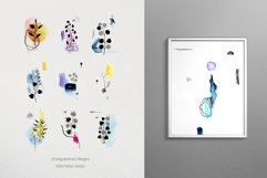 Modern graphic elements. Art leaves Product Image 5