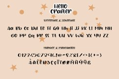 Hello Crafter a Handwritten Craft Font Product Image 5