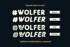 Wolfer | The Adventure Vintage Font Product Image 3