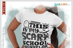 This is My Scary School Counselor Costume SVG Cut File Product Image 3