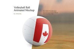 Volleyball Ball Animated Mockup Product Image 1