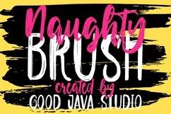 Naughty - Script Brush Product Image 1