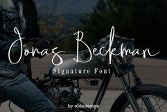 Jonas Beckman - Two Signature Font Product Image 1