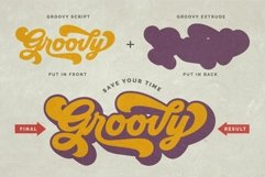 Groovy - Retro Font Product Image 2