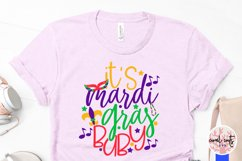 It's mardi gras baby - Mardi Gras SVG EPS DXF PNG Product Image 3