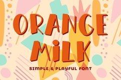 Orange Milk Product Image 1