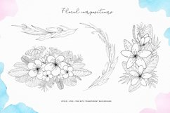 Tropical blossom graphic collection Product Image 3