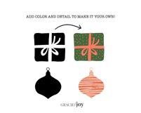 Christmas Tree Procreate Stamp Brush Product Image 2