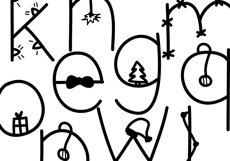Christmas - A Fun Christmas Font Product Image 4