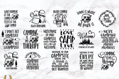 Camping Bucket Bundle of 16 SVGs Vol 3 Product Image 4