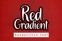 Red Gradient Product Image 1