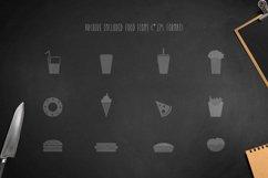 Montclar Font & Food Icons Product Image 5
