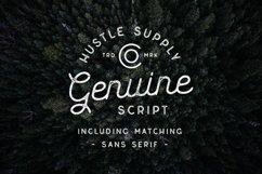 Genuine Script - Textured Type Duo Product Image 1