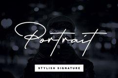 Portrait Signature Script - 6 Fonts - font bundle Product Image 1