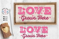 Love Valentines Porch Sign Cut File - Sublimation File Product Image 2
