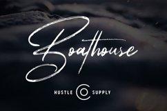 Boathouse - Brush Signature Script Product Image 1