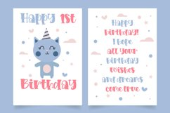Loving kitten a Quirky Font Product Image 3