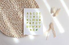 Avocado Alphabet Printable, ABC Nursery Wall Art Product Image 2