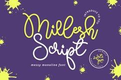 Millesh Script Product Image 1