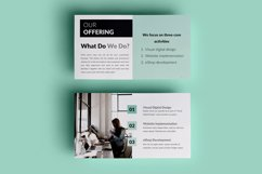 PPT Template | Company Presentation - Green and Marble Product Image 7