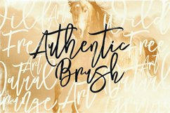 Mustang Brush Font Product Image 2