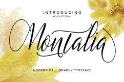 Montalia Script Product Image 6