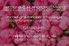 Web Font Peonies in Bloom Product Image 2