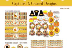 Thanksgiving & Fall Decorations DIY Printable Party Pack Product Image 4