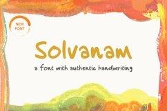 Solvanam  Font Product Image 1