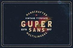 Guper Sans - Handcrafted Font Product Image 1
