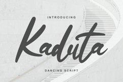 Kaduta   Dancing Script Font Product Image 1