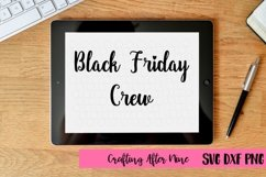 Black Friday Crew Svg, Black Friday Svg, Shopping Svg, Sale Shirt Product Image 1