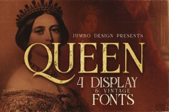 Queen - Display Font Product Image 1