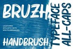 Bruzh - Handbrush Font Product Image 1