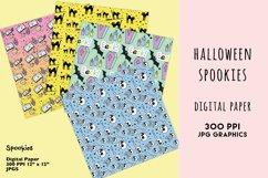 Halloween Digital Paper Set, Spookies Pastel Halloween paper Product Image 3