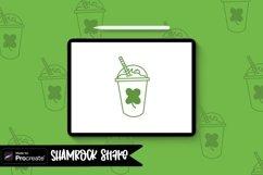 Green shake Procreate Stamp Brush / St. Patricks Day St Product Image 1