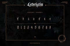 Letterhythm Contemporary Blackletter Typeface Product Image 3